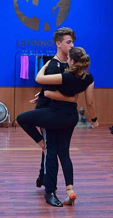Pareja Baile Latinnova Escuela Baile